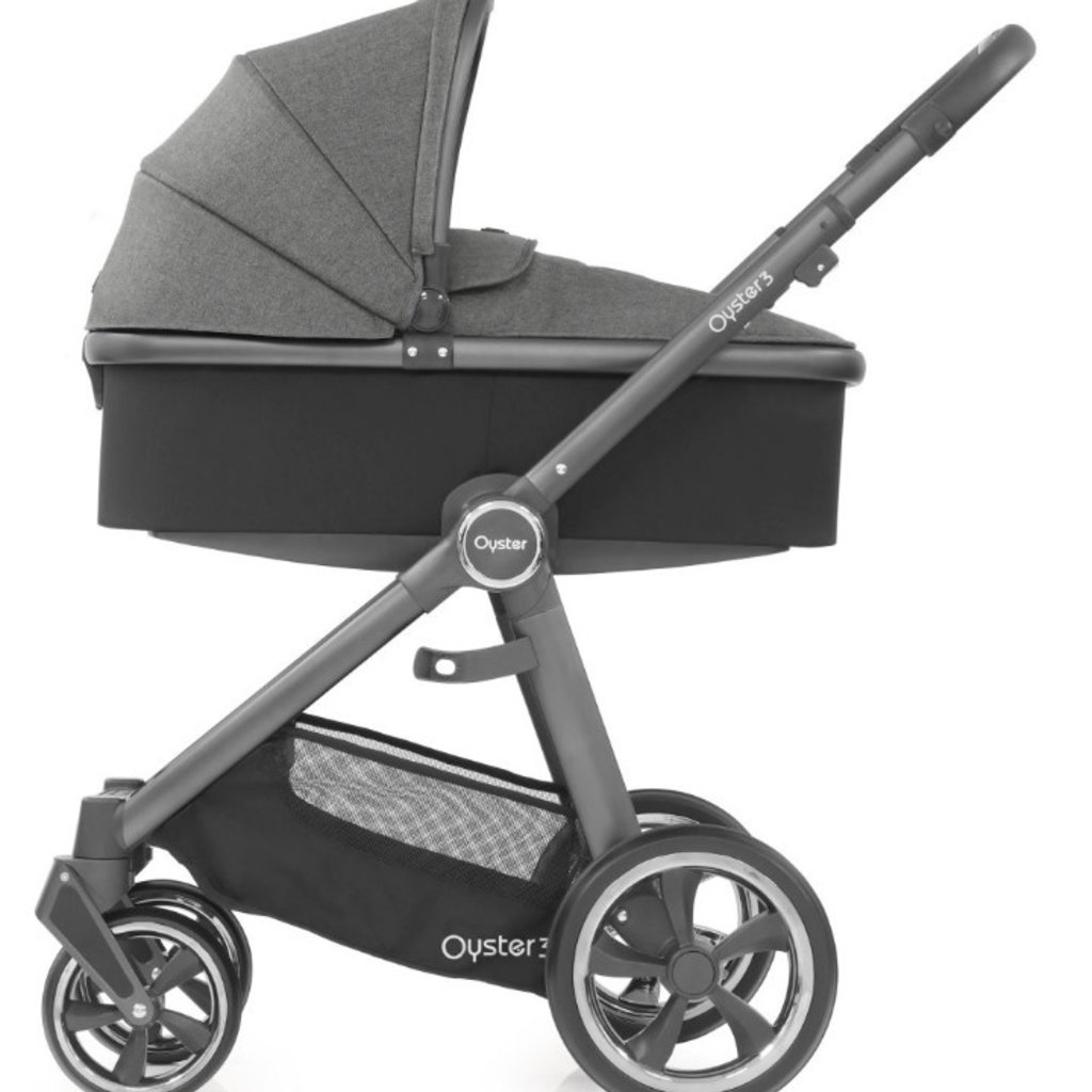 babystyle Oyster 3 Carrycot- City Grey