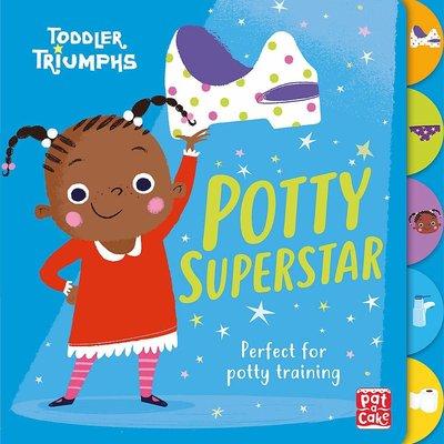 Toddler Triumphs Potty Superstar