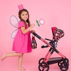 Cosatto Me Mo Dolls Pram & Carseat Fairy Garden