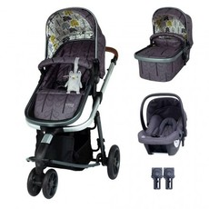 Cosatto Giggle 3 Travel System Bundle - with Hold Graphite Car Seat Fika Forest