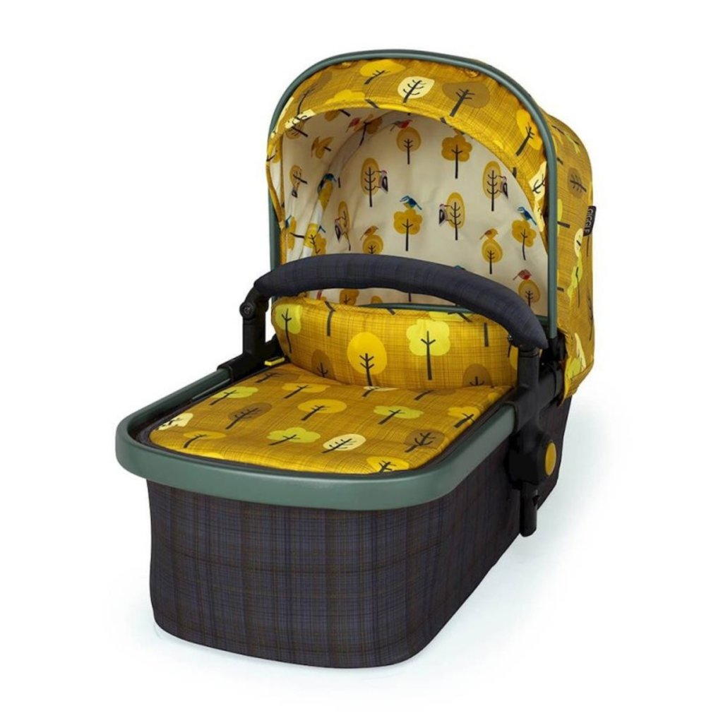 Cosatto Giggle 3 Travel System Bundle - with Hold Graphite Car Seat Spot The Birdie