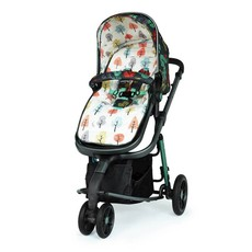 Cosatto Giggle 3 Marvellous Bundle - with Hold Graphite Car Seat Harewood