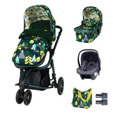 Cosatto Giggle 3 Marvellous Bundle - with Hold Graphite Car Seat Into The Wild