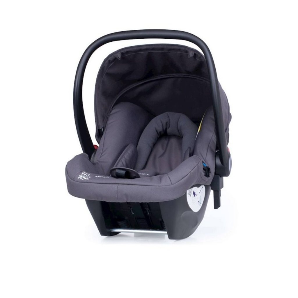 Cosatto Giggle 3 Whole 9 Yards Bundle - with Hold Graphite Car Seat Spot The Birdie