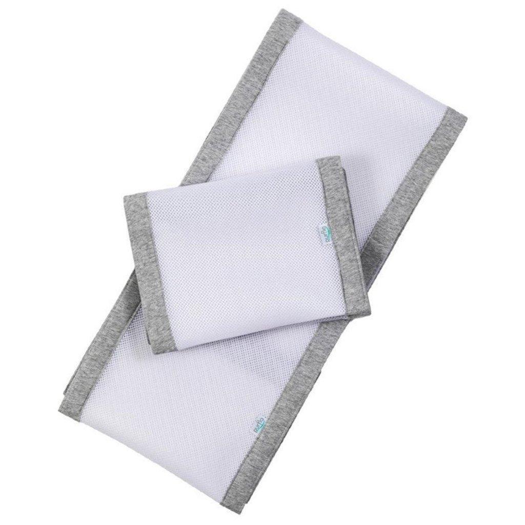 Purflo Purflo Breathable Cot Bumper Marl Grey
