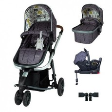 Cosatto Giggle 3 Car Seat and i-Size Base Bundle Fika Forest