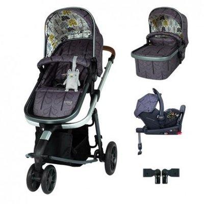 Cosatto Giggle 3 Car Seat and i-Size Base Bundle Fika Forest