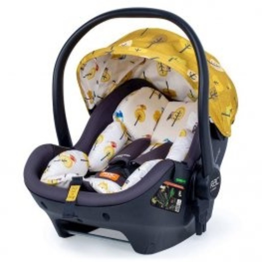 Cosatto Giggle 3 Car Seat and i-Size Base Bundle Spot The Birdie