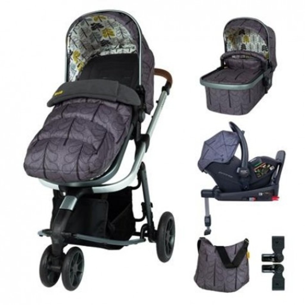 Cosatto Giggle 3 Everything Bundle Fika Forest