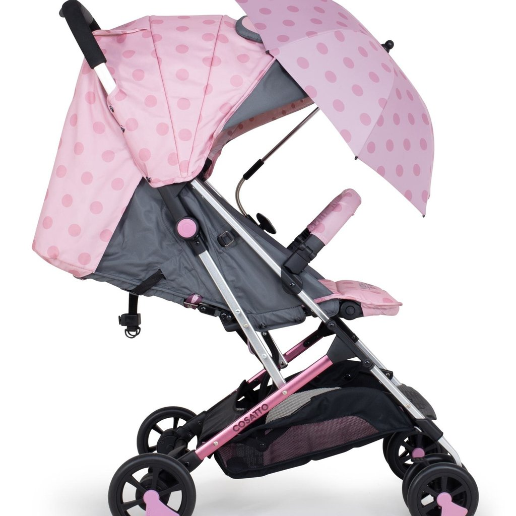 Cosatto Woosh 2 Stroller parasol bundle Bunny Buddy