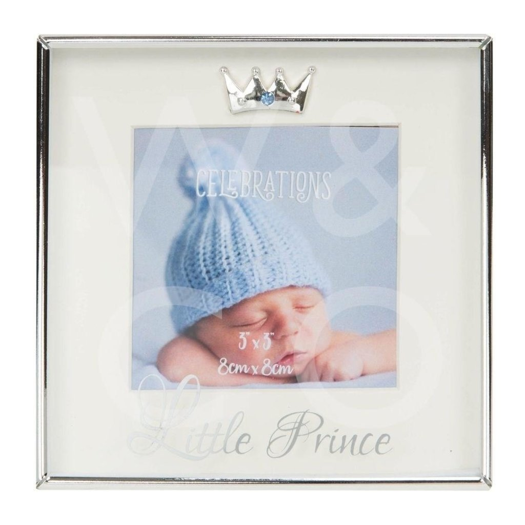 Box Photo Frame Silverplated - Little Prince
