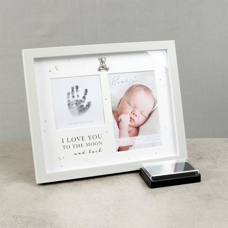 Box Photo Frame Silverplated - Little Princess