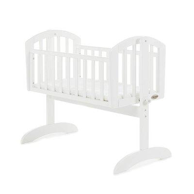 Obaby Sophie Swing Crib White & Mattress