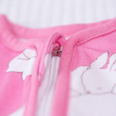 Babyboo Sleepy bunnies organic cotton SnuggleBoo sleepsuit (1 tog) - 6-12 years