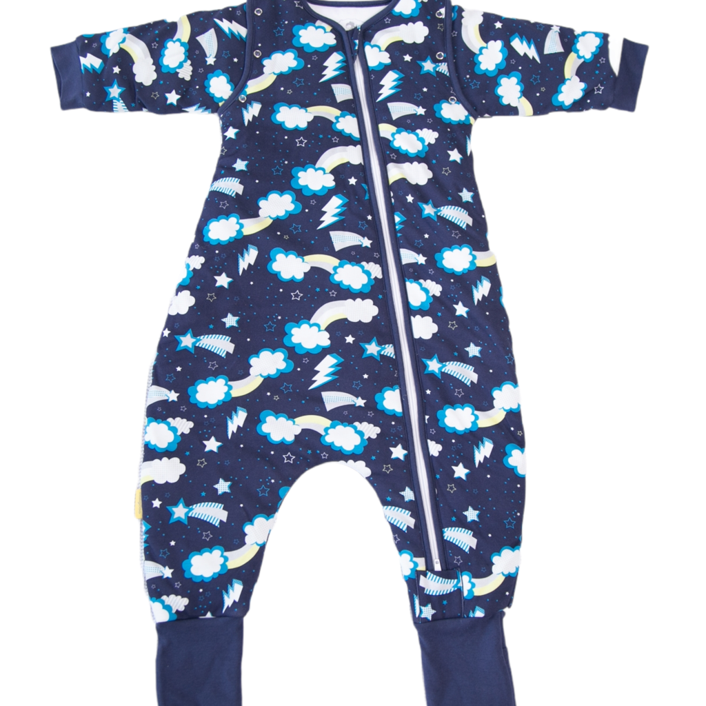 Babyboo Flash organic cotton SnuggleBoo sleepsuit (1 tog) - 2-3 years