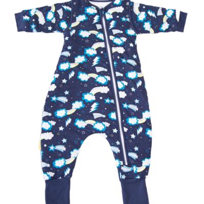 Babyboo ORGANIC COTTON (1 TOG) 2-3y SNUGGLEBOO SLEEPSUIT