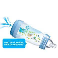 Mam Mam Easy Start Anti-Colic Bottle 160ml 3pk Pink