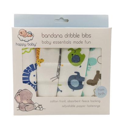 Happy Baby Bandana Dribble Bib Safari