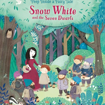 Usborne Peep Inside a Fairy Tale - Snow White and the Seven Dwarfs