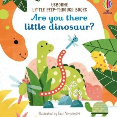 Usborne Are You There Little Dinosaur?