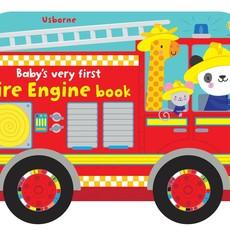 Usborne Baby's Very First Fire Engine Book