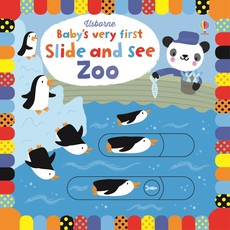 Usborne Babies Very First Slide and See Zoo