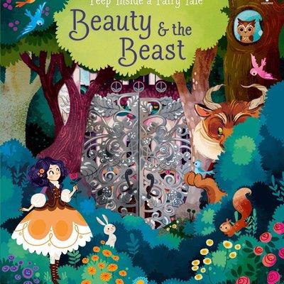 Usborne Peep Inside a Fairy Tale - Beauty and the Beast