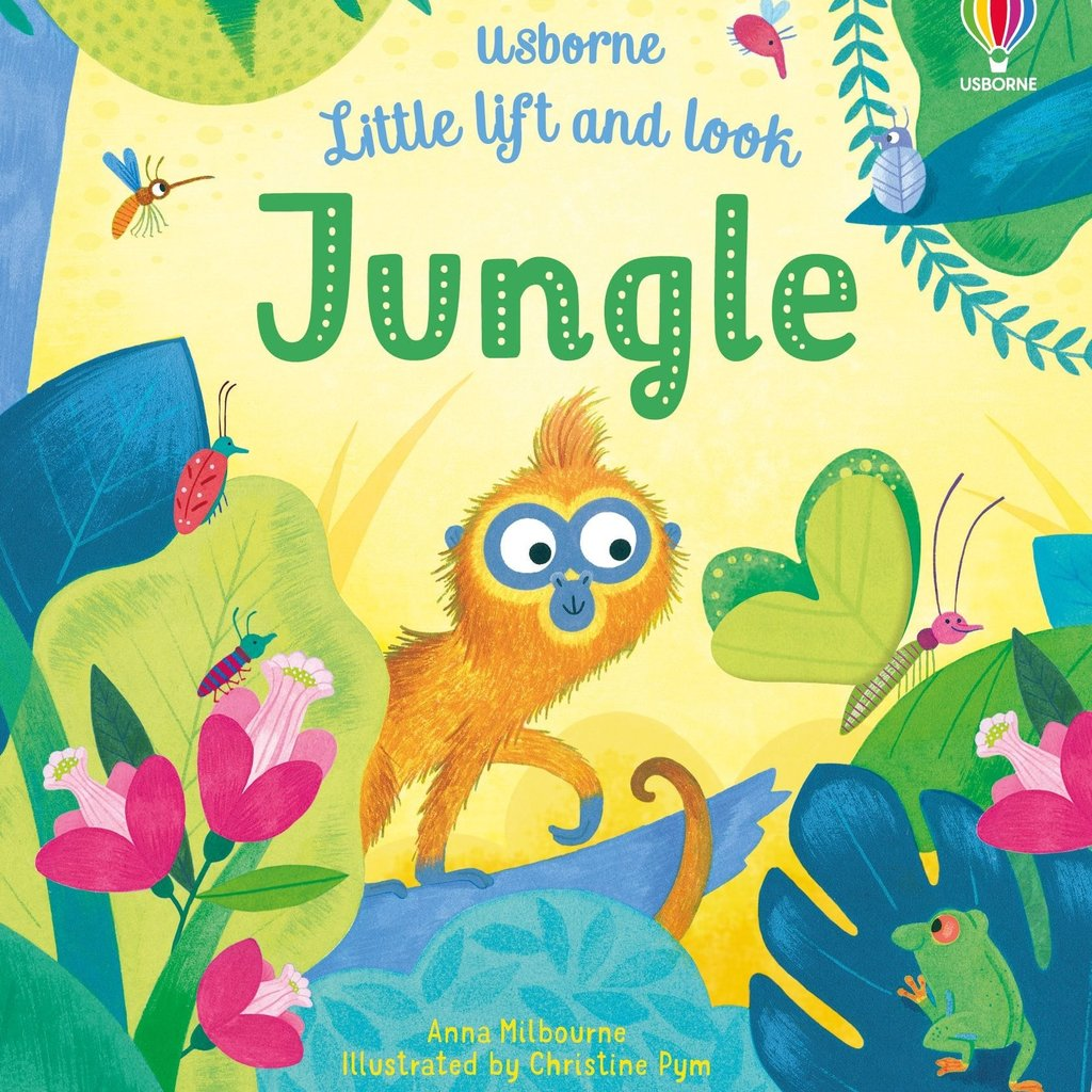 Usborne Little Lift And look Jungle