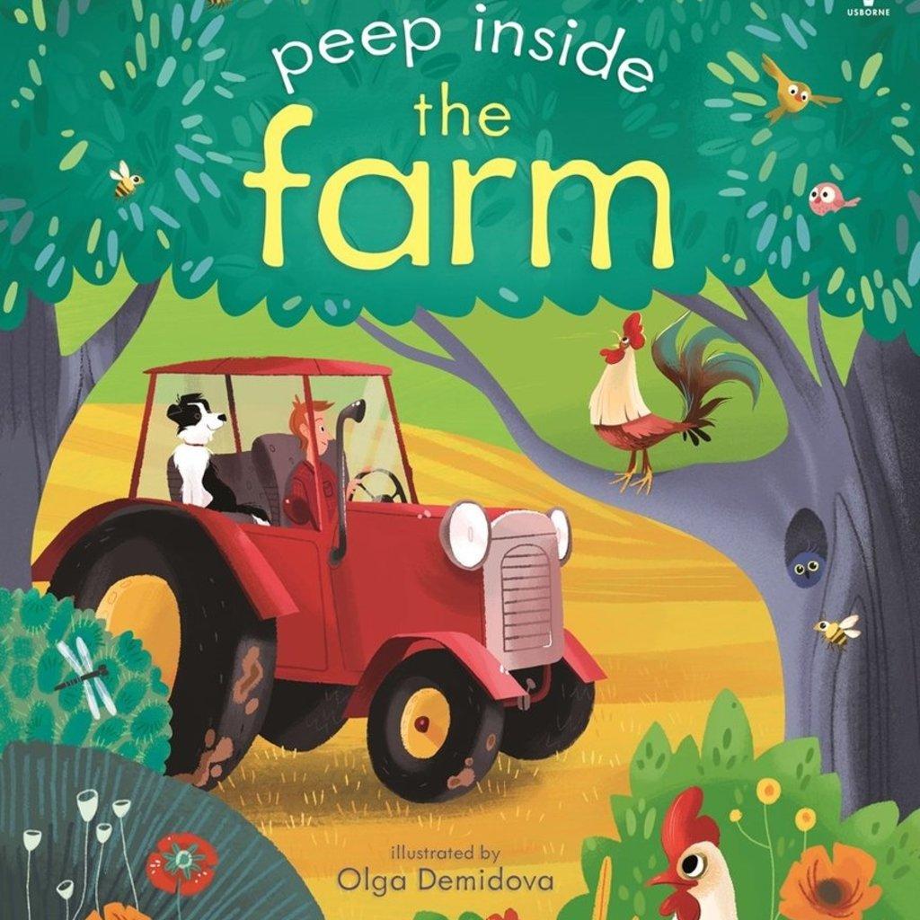 Usborne Peep Inside The Farm