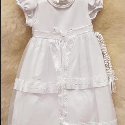 Sheelin River Oaks Christening Gown 6-12m