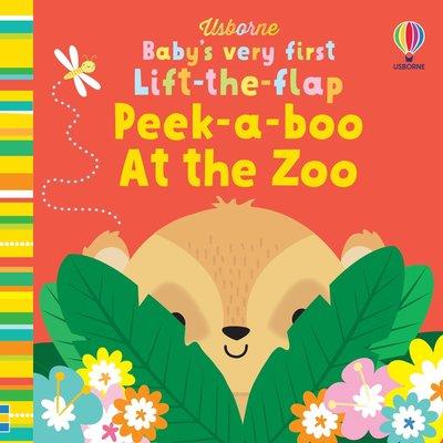 Usborne Lift the Flap Peek-a-Boo At the Zoo