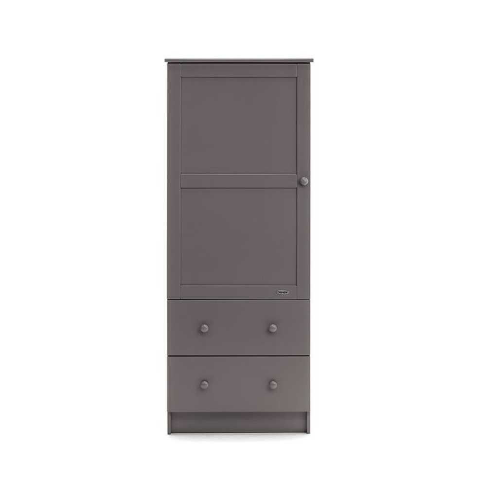 Obaby Obaby Single Wardrobe - Taupe Grey