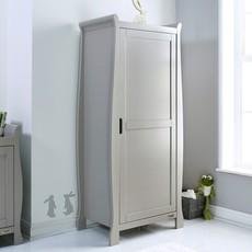 Obaby Obaby Stamford Sleigh Single Wardrobe - Warm Grey