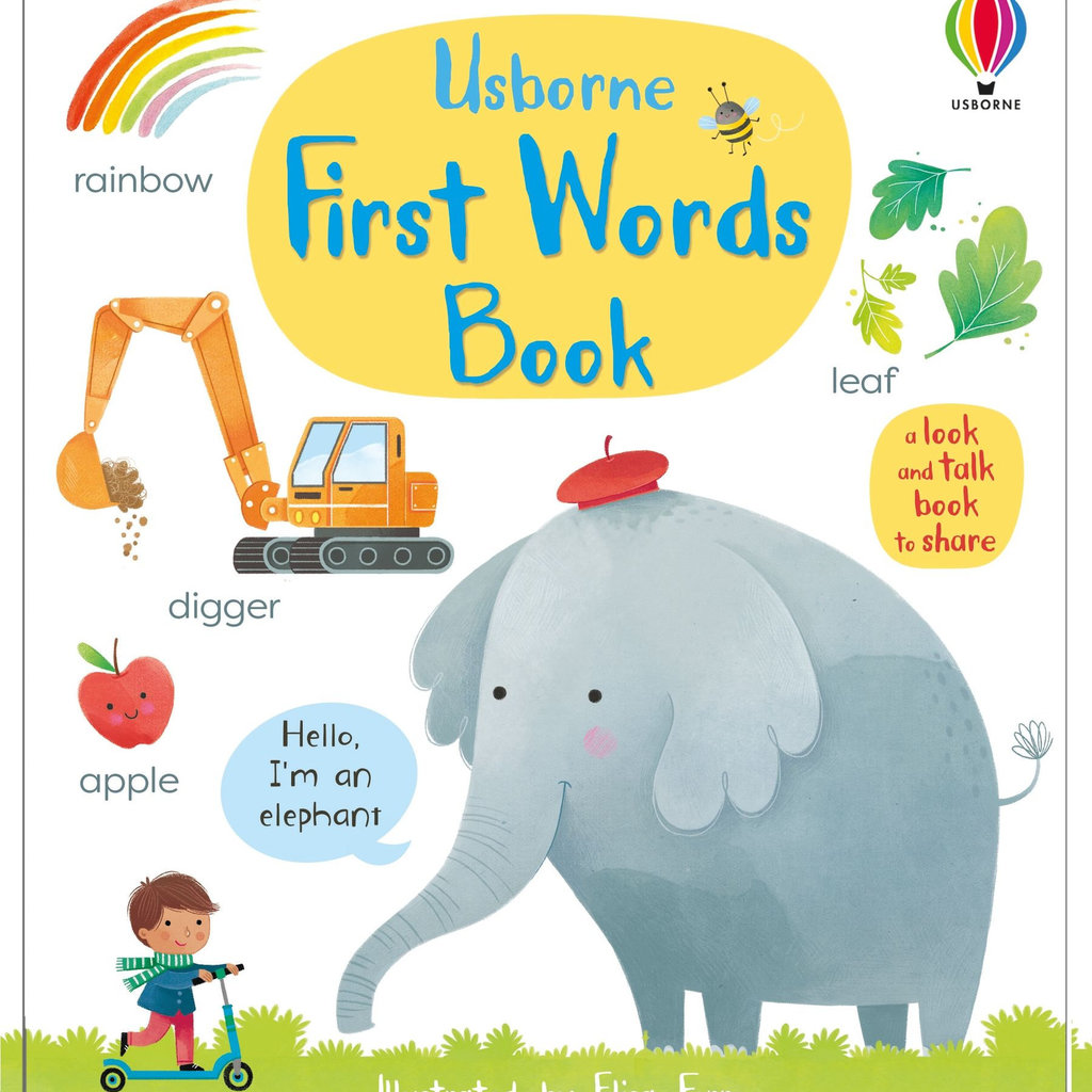 Usborne First Words Book