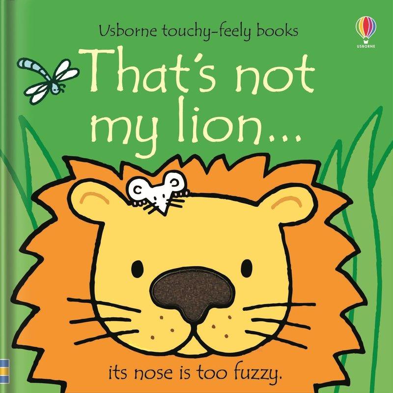 Usborne That's Not My Lion