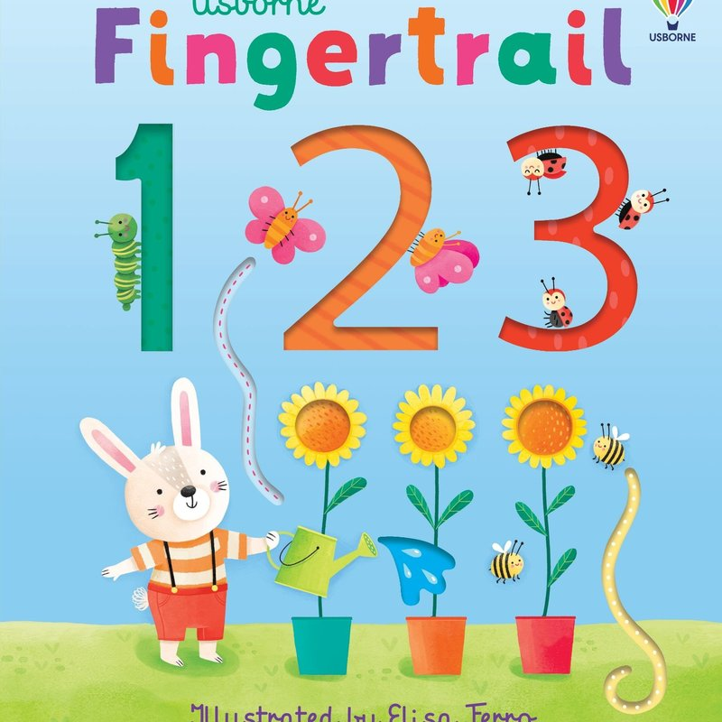 Usborne Fingertrail 123