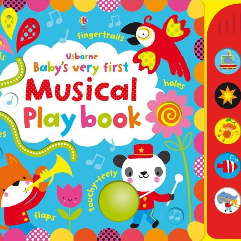 Usborne Baby's Very First Touchy Feely Musical Playbook