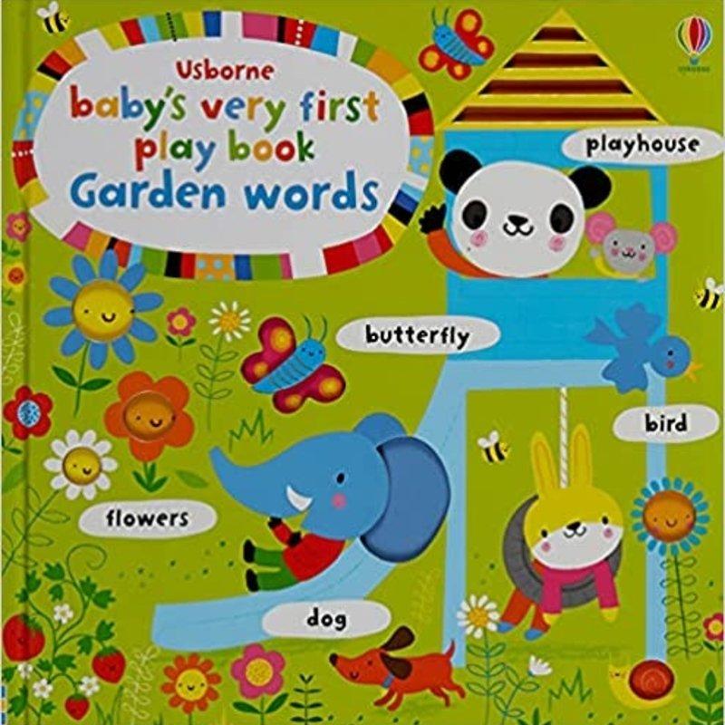 Usborne Usborne BVF Play Book Garden Words