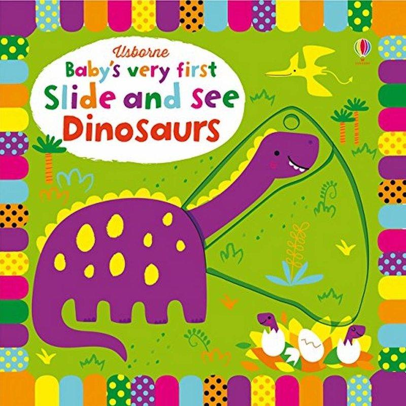Usborne Usborne BVF Slide and See Dinosaurs