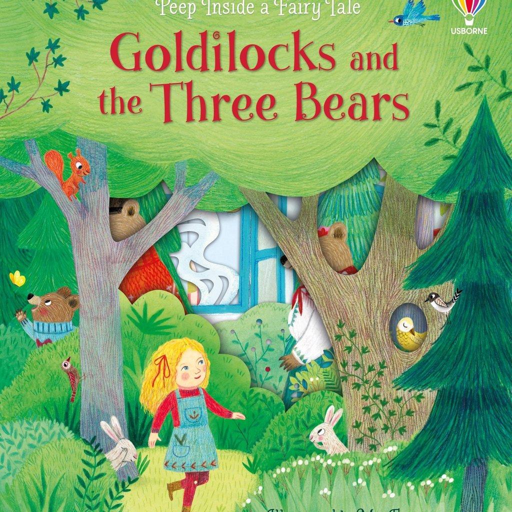Usborne Peep Inside a Fairy Tale Goldilocks and the Three Bears