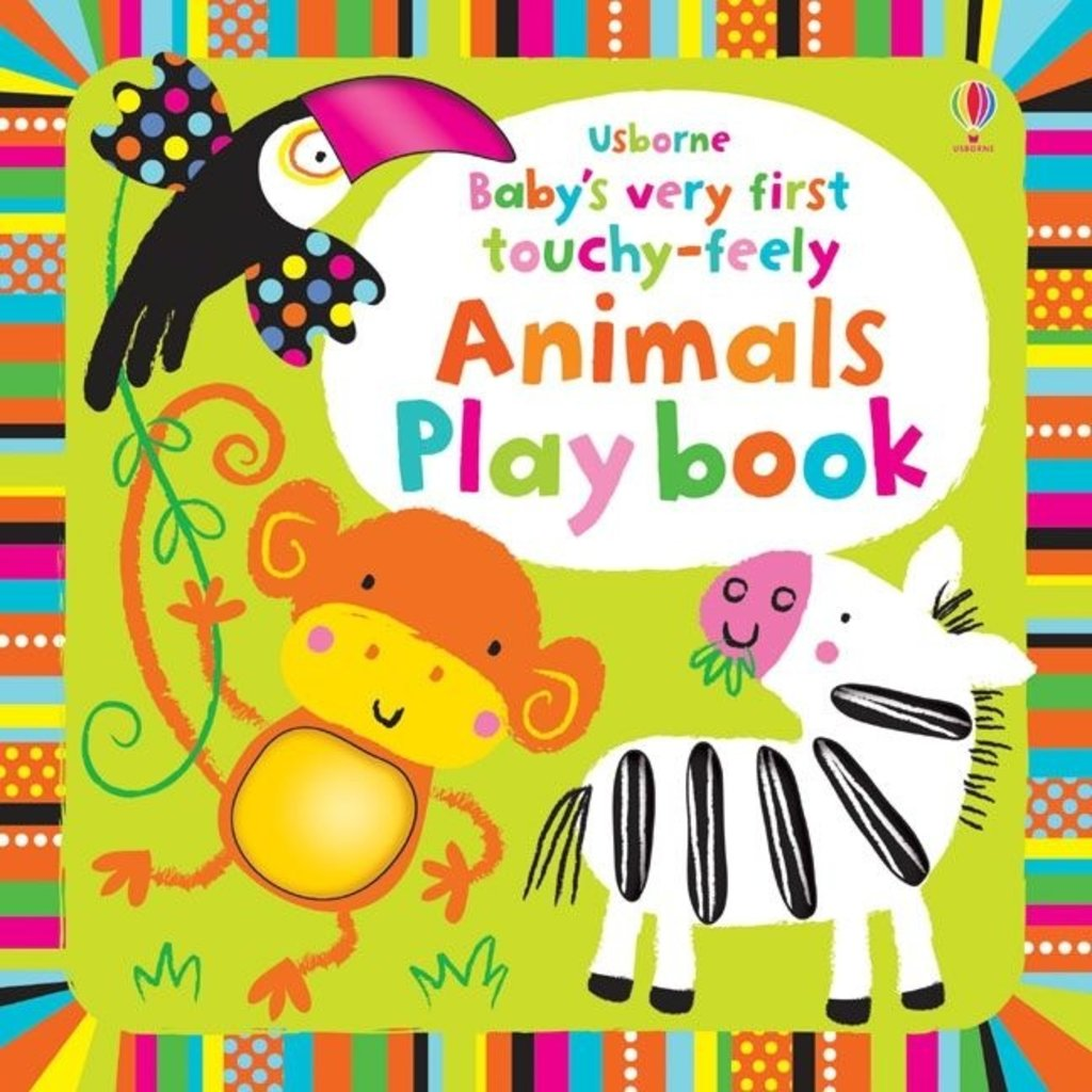 Usborne Baby's Very First Touchy-Feely Animals Playbook