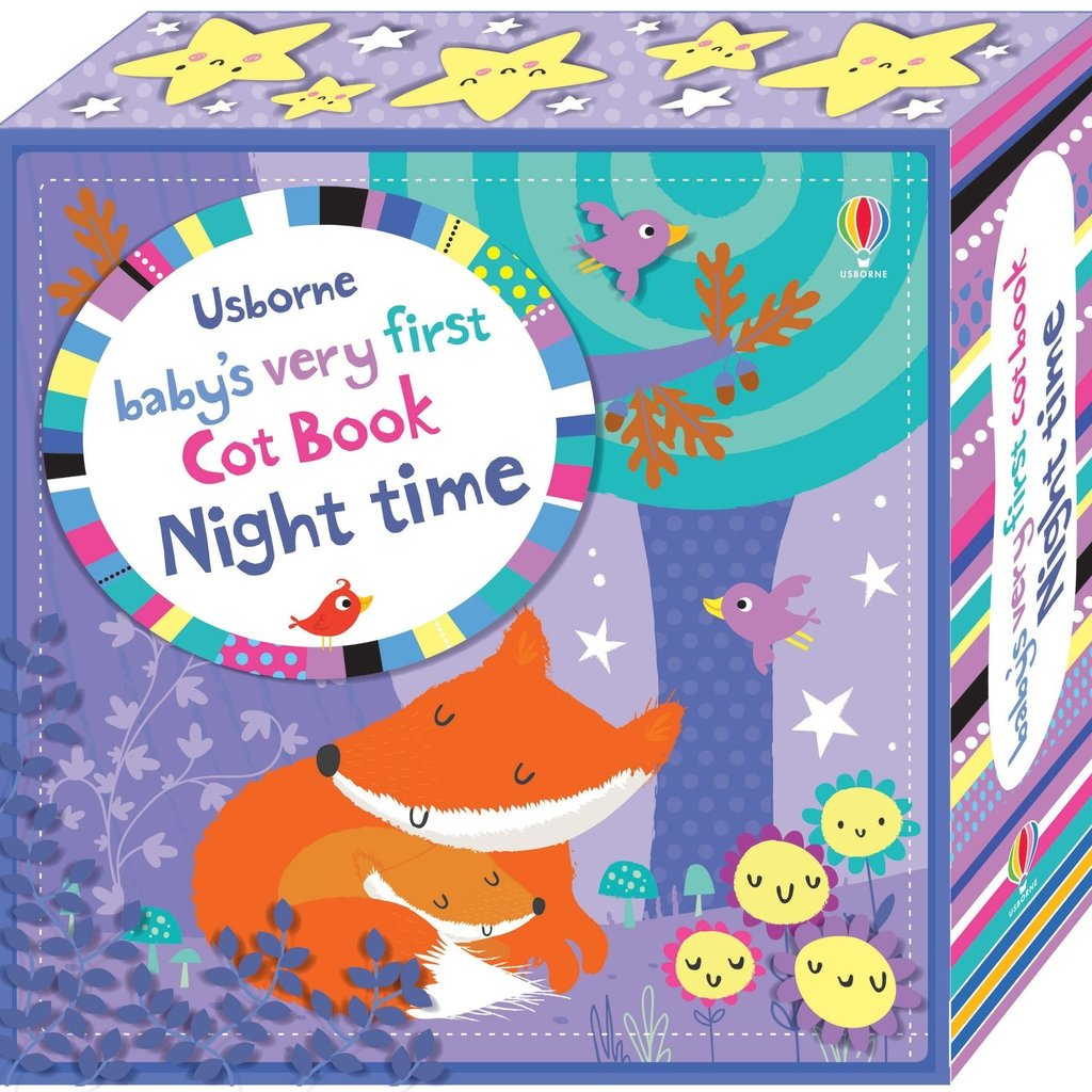 Usborne Baby's Very First Cot Book Night Time