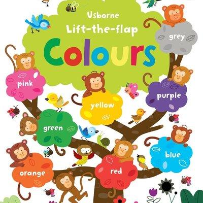 Usborne Lift-the-flap Colours Book