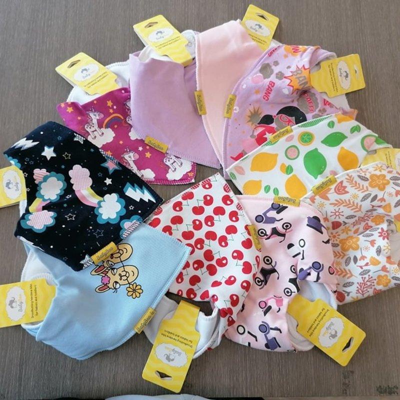 Babyboo Babyboo Bibs Assorted Colours