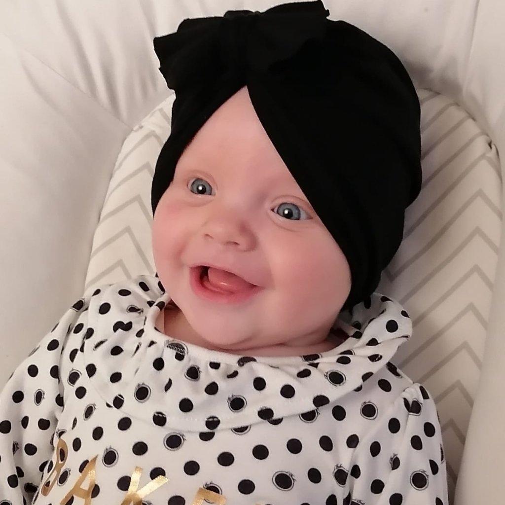 Wren&Co Baby Turban Headwrap