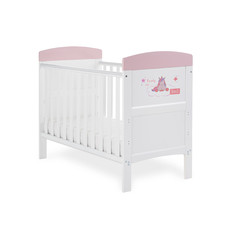 Obaby Obaby Grace Inspire Mini Cot bed - Ready For Bed Unicorn