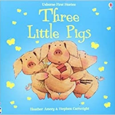 Usborne Usborne First Stories Three Little Pigs