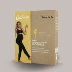 Carriwell Carriwell Maternity Support Leggings - Black / Large