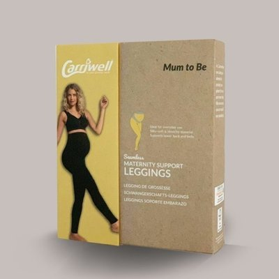 Carriwell Carriwell Maternity Support Leggings - Black / Extra Large