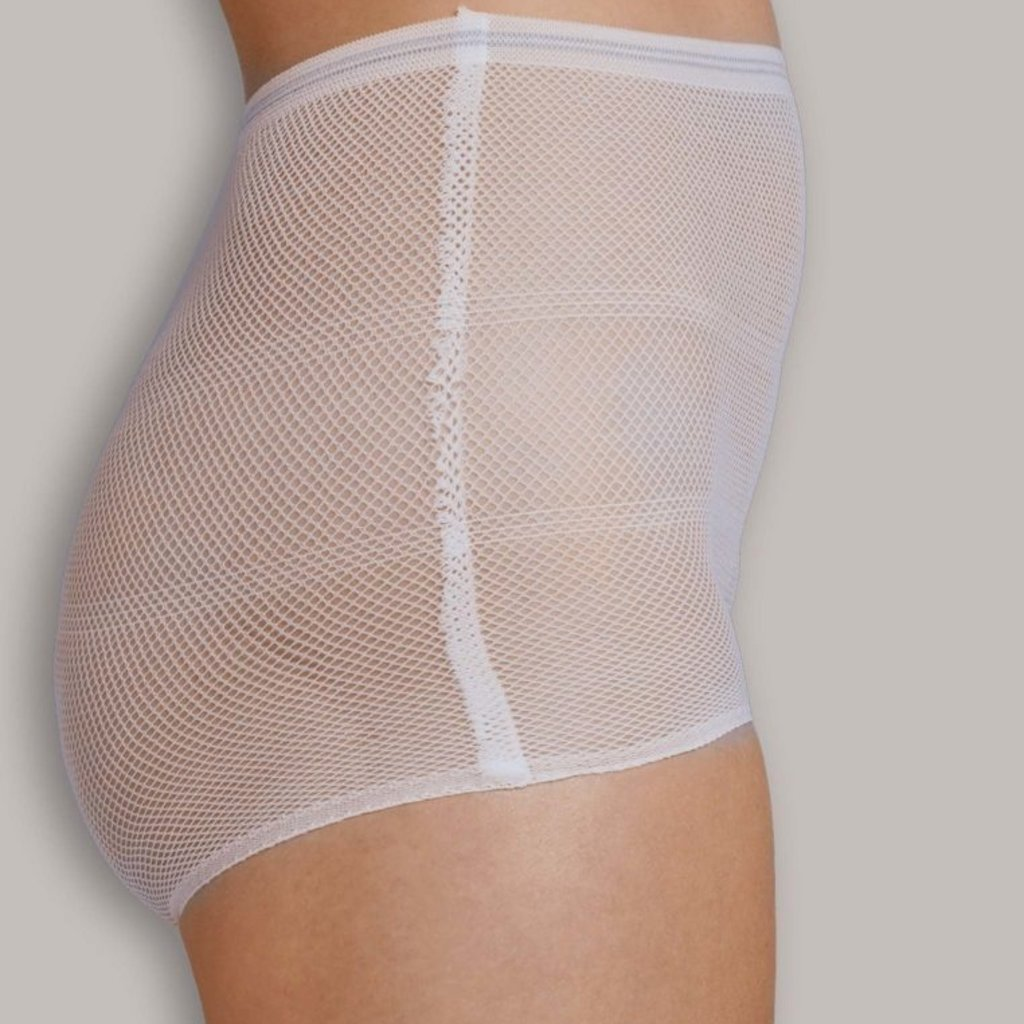Cariwell Carriwell 4 Pack Hospital Panties - One Size / White